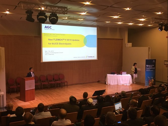 AGC presented the latest technology update of FLEMION™ at