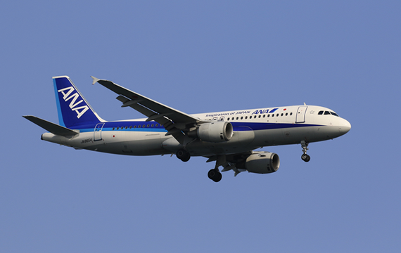 Passenger aircraft (All Nippon Airways Co., Ltd.)
