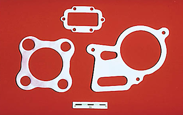 Gaskets, packing, V-rings